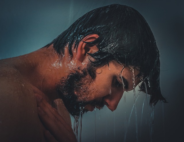 in shower beard conditioner