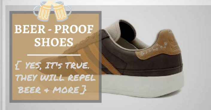 beer proof shoes