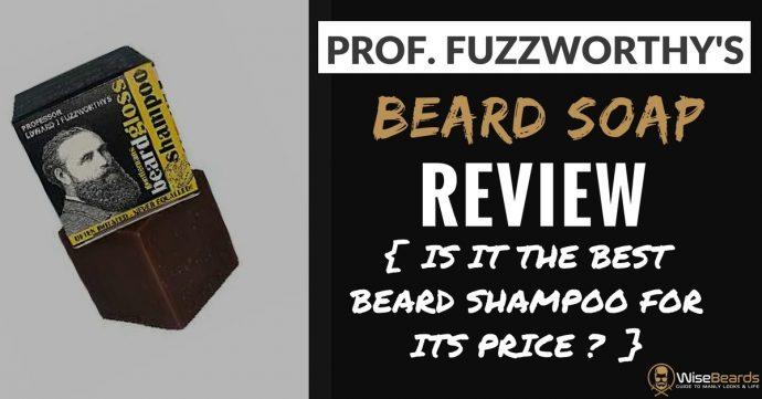Professor Fuzzworthy's Beard Shampoo Review   Definitive