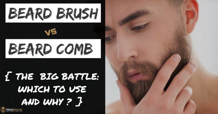 Beard Brush Vs Comb