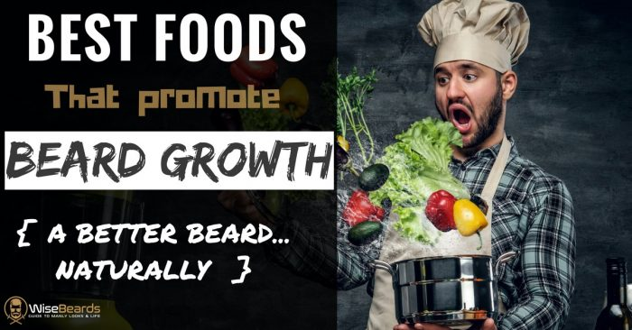 beard growth foods